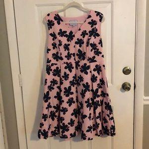Draper James x Eloquii Floral Dress
